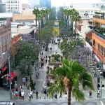 Calle Promenade en Santa Mónica